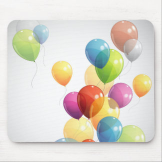 Colorful Balloons Mouse Pad