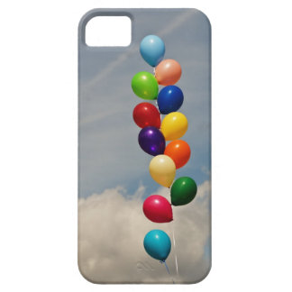 Colorful Balloons -Purple, Pink, Blue, Red, Yellow iPhone SE/5/5s Case