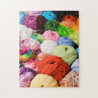 Colorful Balls of Yarn Puzzle