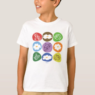 Colorful Bambi, Flower, & Thumper T-Shirt