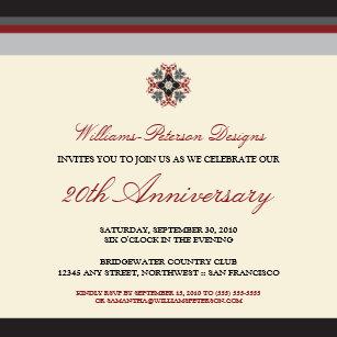 Corporate anniversary invitations announcements zazzle colorful bands corporate event invitation black stopboris Choice Image
