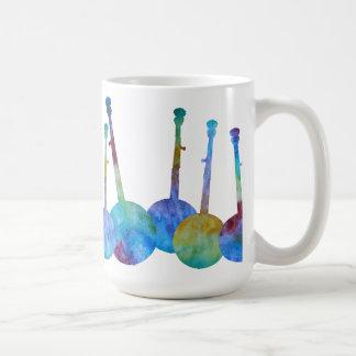 Colorful Banjo Band Coffee Mug