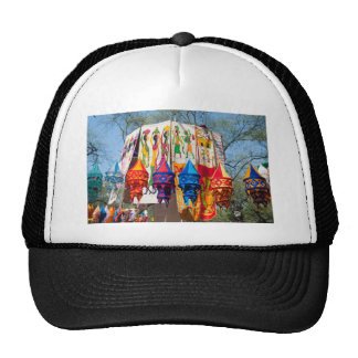 Colorful banners trucker hat