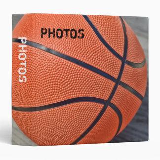 "Colorful Basketball 1.5"" Photo Album 3 Ring Binder"