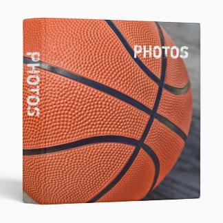 "Colorful Basketball 1"" Photo Album 3 Ring Binder"