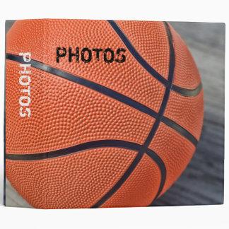 "Colorful Basketball 2"" Photo Album 3 Ring Binder"
