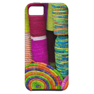 Colorful Baskets At Market iPhone SE/5/5s Case