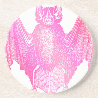 Colorful Bat Coaster