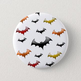 Colorful Bats Button