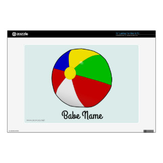 """Colorful beach ball skins for 13"""" laptops"""