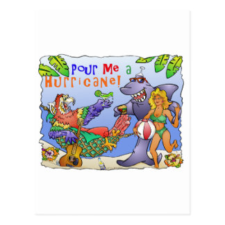 Colorful beach party design. postcard