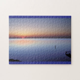 Colorful Beach Sunset Puzzles