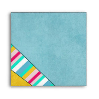 Colorful Beachtime Special Occasion Party Envelope