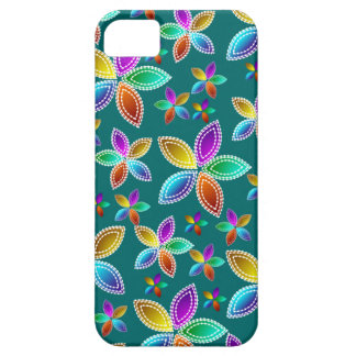 Colorful Bead Flowers iPhone5 Case