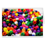 Colorful Beads Cards