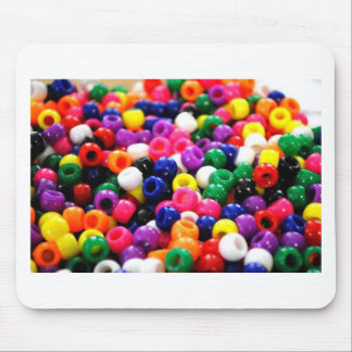 Colorful Beads Mouse Pad