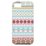 Colorful Beautiful Pattern Unique Gifts for Her iPhone 5 Cases
