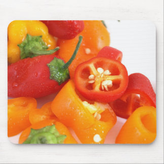 Colorful Bell Peppers Mousepad