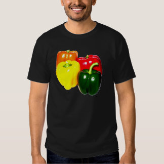 Colorful Bell Peppers Tee Shirt