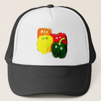 Colorful Bell Peppers Trucker Hat