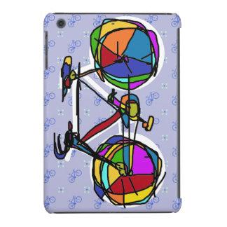 colorful bicycle happy art iPad mini cover