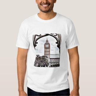 Colorful Big Ben T Shirt