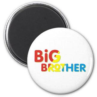 Colorful Big Brother Shirt Refrigerator Magnet