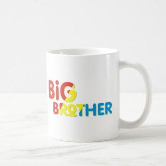 Colorful Big Brother Shirt Classic White Coffee Mug