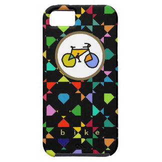 colorful bike . cycling iPhone SE/5/5s case