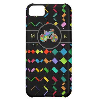colorful bike geometric pattern iPhone 5C covers