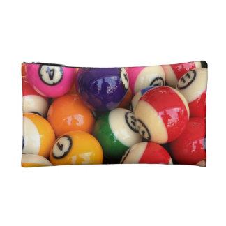Colorful Billiards Cosmetic Bag
