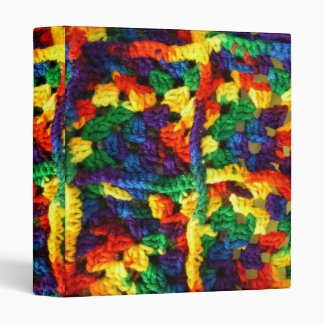 Colorful Binder For the Crocheter in Your Life.