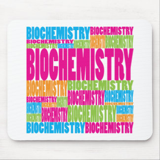 Colorful Biochemistry Mouse Pad