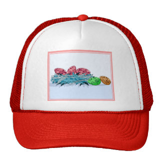 Colorful Bird Eggs Trucker Hat