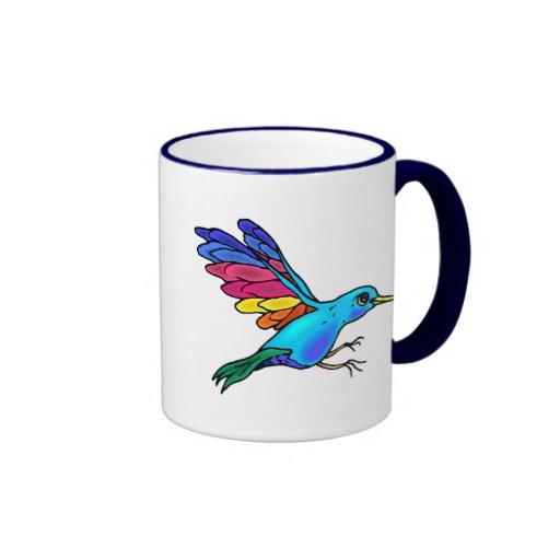 Colorful Bird Mug
