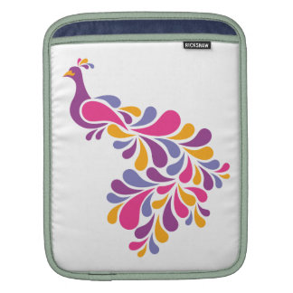 Colorful Bird Sleeve For iPads