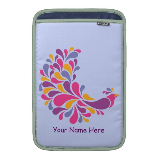 Colorful Bird Sleeve For MacBook Air
