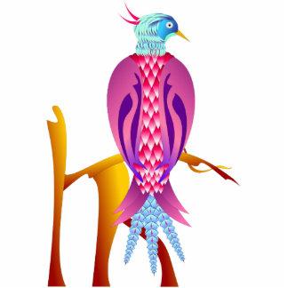 Colorful Bird Statuette