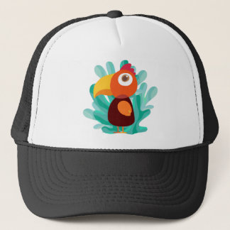 Colorful Bird Trucker Hat