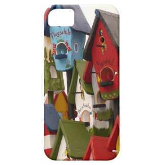 Colorful Birdhouses iPhone 5 Case