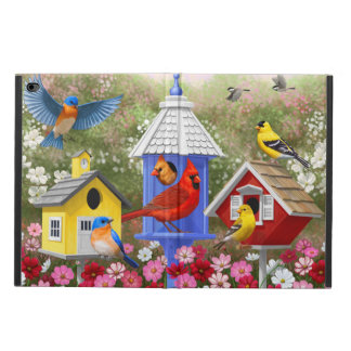 Colorful Birds and Birdhouses Powis iPad Air 2 Case