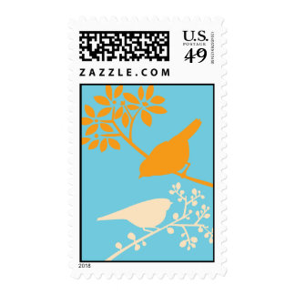 Colorful Birds Postage