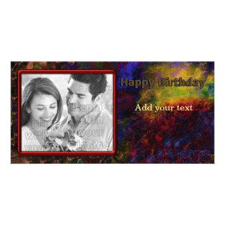 Colorful Birthday Design Card