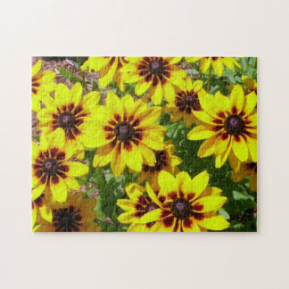 Colorful Black-eyed Susans Difficult Jigsaw Puzzles