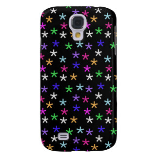 Colorful Black Jacks - Samsung Galaxy S4 Case