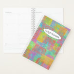 "Colorful Block Loop Planner<br><div class=""desc"">abstract painting</div>"