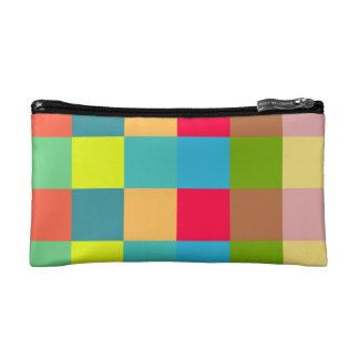 Colorful Blocks Cosmetic Bag