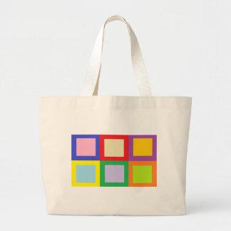 Colorful Blocks Bag