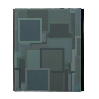 Colorful Blocks iPad Case