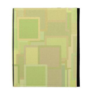 Colorful Blocks iPad Folio Cover